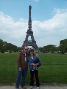 Sight seeing in Paris