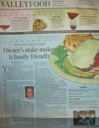 Mason's Steak House
