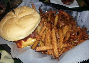 the Ranchero Burger
