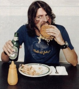 The official Dave Grohl burger, along with a beer brewed specially for the event, will be unveiled at the festival, which will be May 11 in Dave Grohl Alley, downtown. It will be open to the public, and attendees will be able to purchase the winning burger and beer that day.