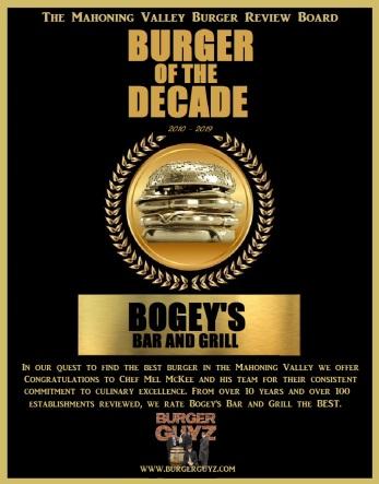 Burgerguyz Burger of the Decade